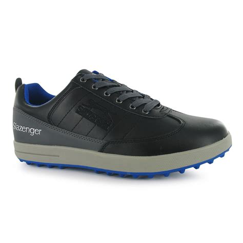 gents sports shoes slazenger golf padded collar sports shoes lace up gents
