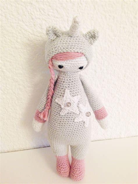 free pattern lalylala unicorn mod made by elise c based on a lalylala crochet