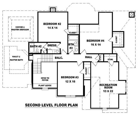 Floor Pl   french house plans home design su b2200 1474 544 f 10533