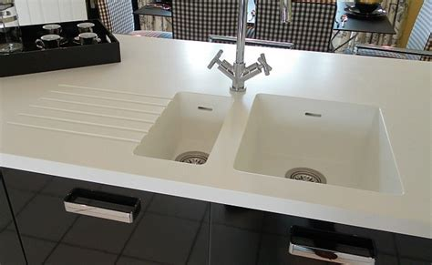 Corian Glacier by Corian Glacier White Worktops Multi Surface Fabrications
