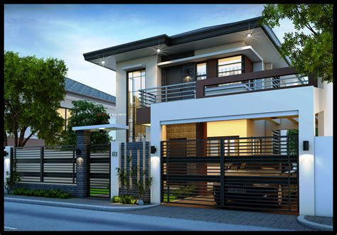 2 house designs easy ideas modern 2 storey house designs modern house