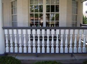 Wooden Porch Spindles 187 Front Porch Railings In Plainsfield Il