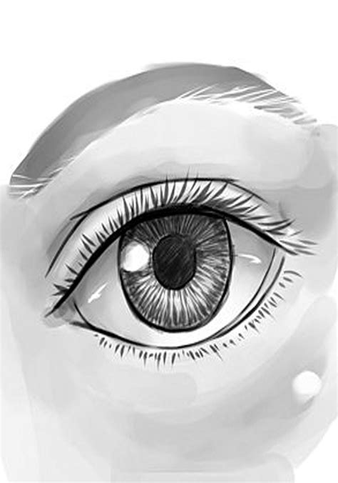 How to Draw a Human Eye - Learn how to draw