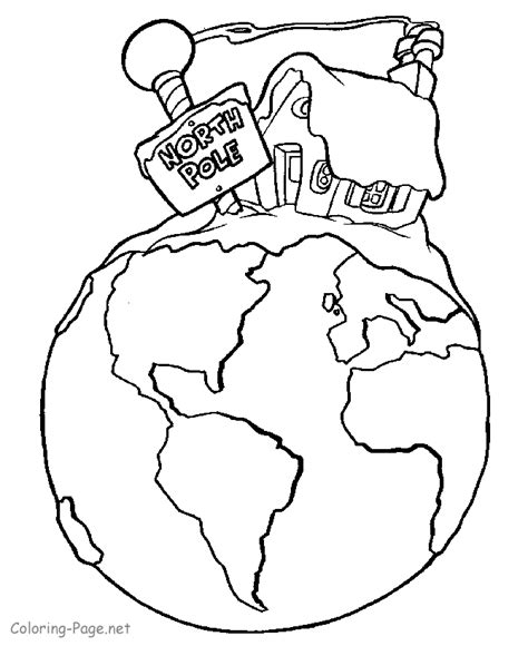 Pole Coloring Page pole coloring pages coloring home