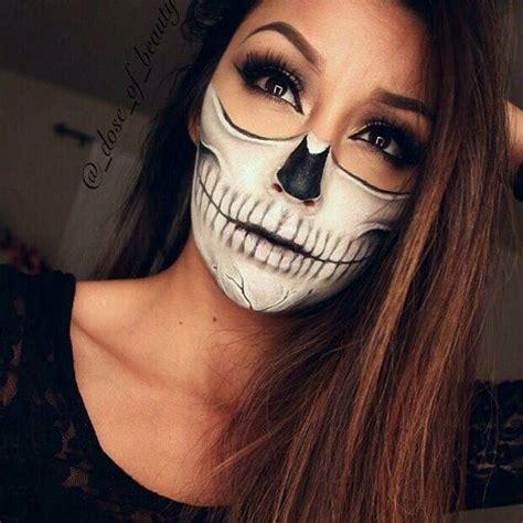 imagenes de halloween para el rostro maquillaje halloween para mujer 161 lo m 225 s top para este 2017