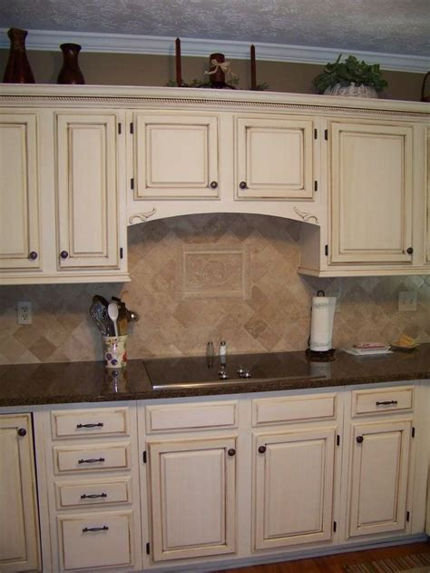 Colored Cabinets With Brown Glaze Search