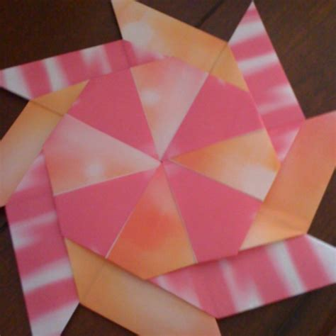 Origami Pinwheel - origami pinwheel origami and crafts