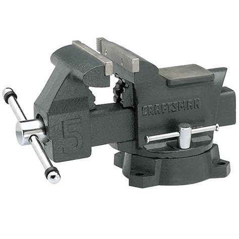 craftsman bench vice 6 inch bench vise hold your project steady with sears