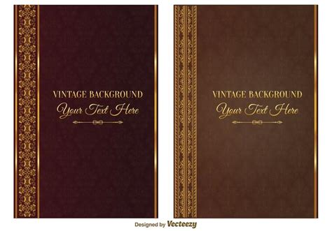free pictures for book covers vintage book covers free vector stock