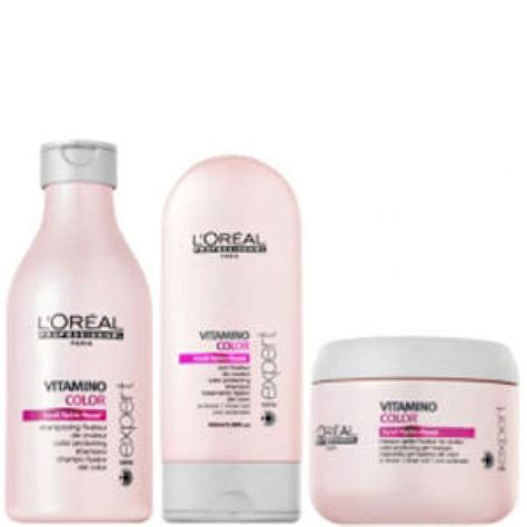 Sho Loreal Expert l or 233 al professionnel s 233 rie expert vitamino colour pack 3 products free shipping lookfantastic