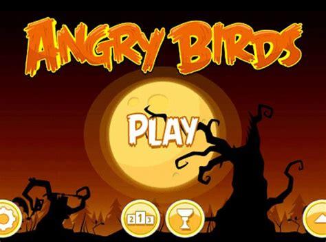 imagenes de halloween para juegos de ba o angry birds halloween el popular juego para iphone y