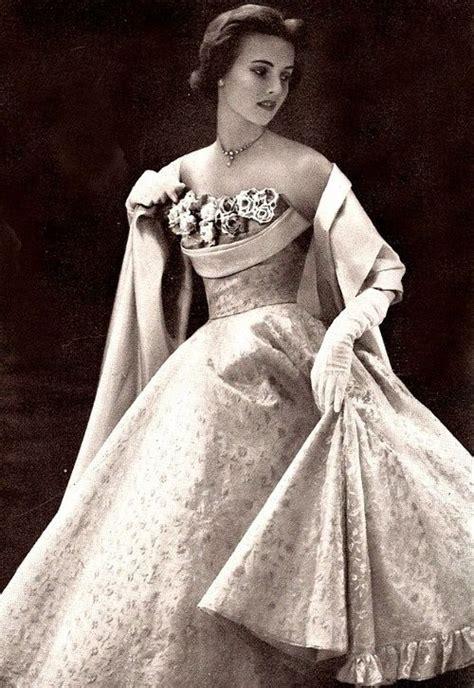evening gown c 1950s vintage 1000 ideas about 50s vintage on 1950s dresses