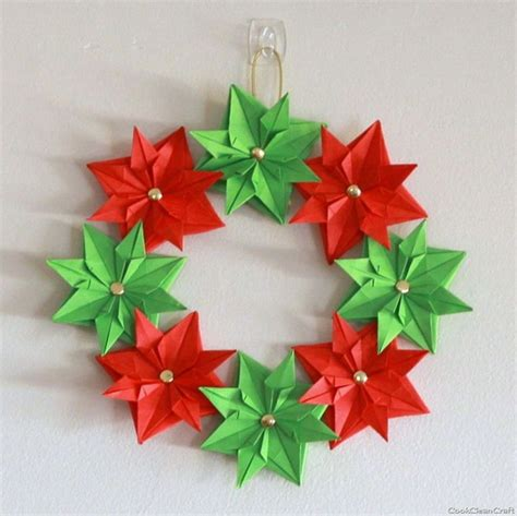 pretty paper christmas craft decoration ideas family