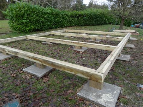 Timber Shed Base by Tuin