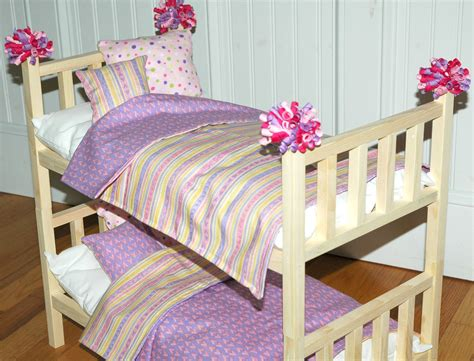 american girl doll bunk beds american girl doll bed sweet heart bunk bed with bedding
