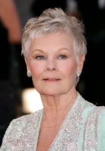 hairstyles for 60 yr with white hair and wide the movies of judi dench the ace black blog
