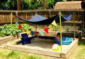 backyard sandbox kidspace interiors
