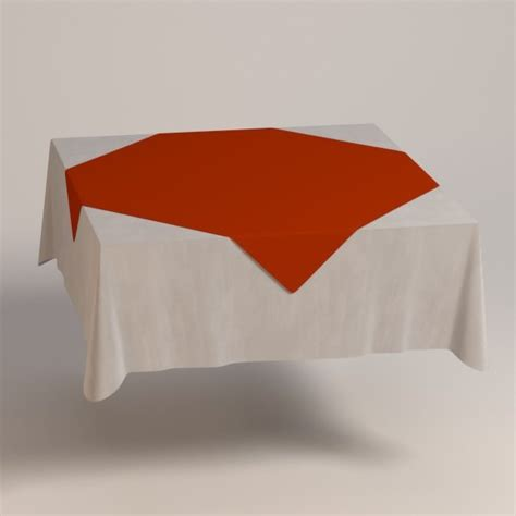 Square Table Cloth 3ds Max Square Tablecloth