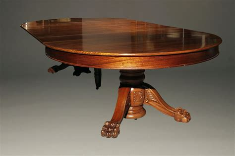 Antique Pedestal Dining Table Antique Pedestal Table With Leaves