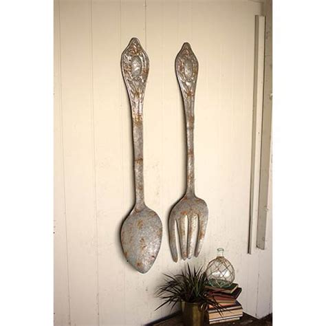 wall decor spoon and fork 311cmn1008