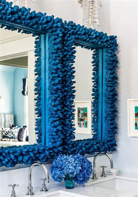 blue bathroom mirror bathroom design decor photos pictures ideas