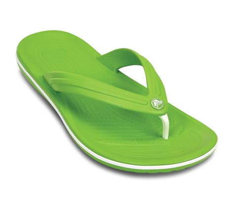 12 Flip Flops by New Genuine Crocs Unisex Crocband Flip Flops Lightweight