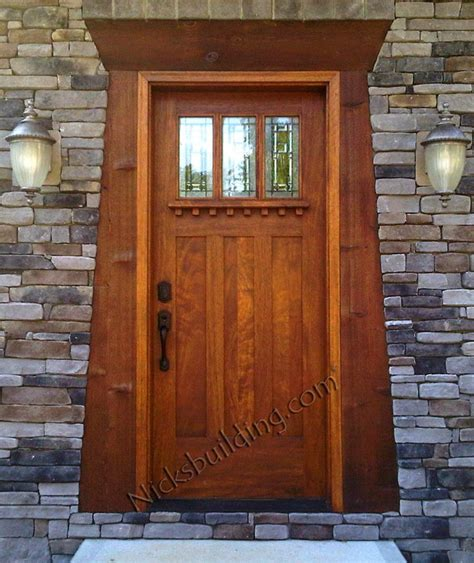 11 Best Front Entry Images On Pinterest Entrance Doors Mission Style Exterior Doors