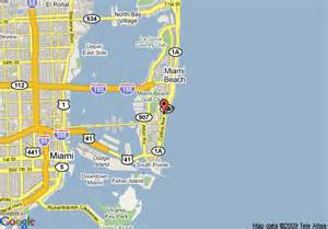 map of south hotel miami