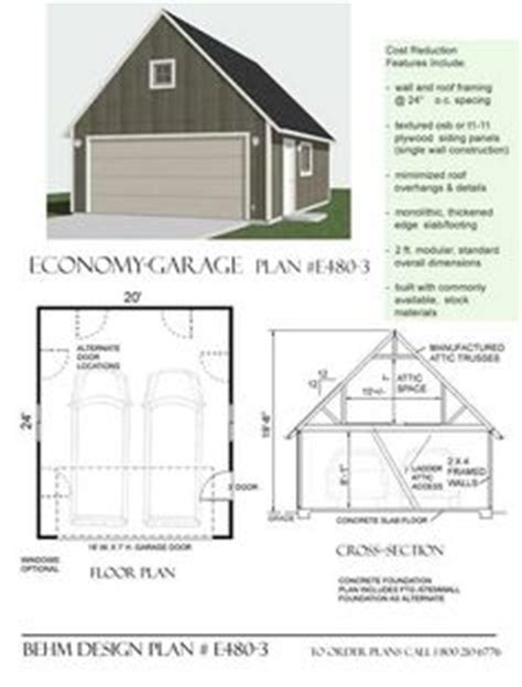 20 x 24 garage plans 1000 images about garage plans by behm design pdf plans on pinterest 2 car garage plans