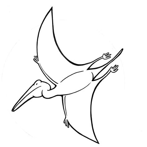 Pterodactyl Coloring Pages Printable Coloring Pages Pterodactyl Coloring Page
