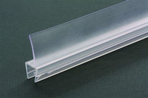 deal glass shower door plastic seal rubber