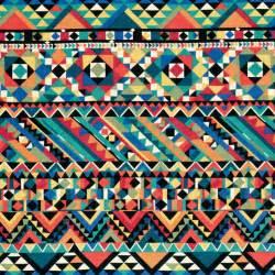 aztec aztec pattern black blue colorful image