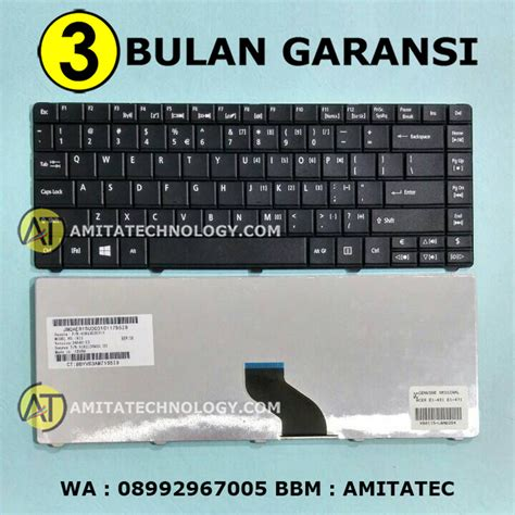 Harga Baterai Acer Aspire 4740 Original keyboard acer aspire e1 431 e1 471 amita technology