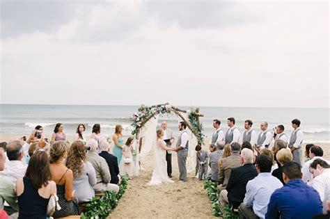 modern tropical watercolor beach wedding tidewater  tulle coastal virginia wedding blog