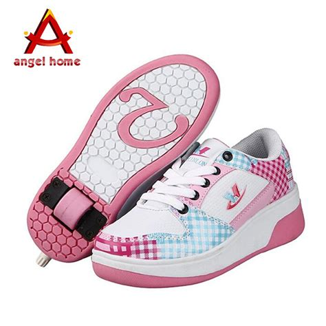 wheel shoes for sports shoes for boy auto air breathing wheel shoes