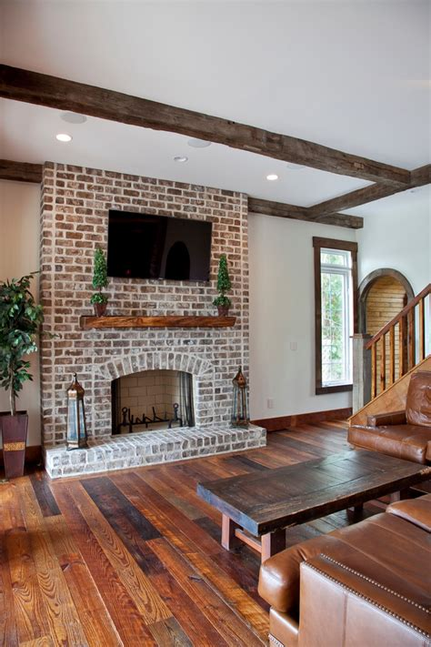 living room brick fireplace refacing a brick fireplace living room traditional with
