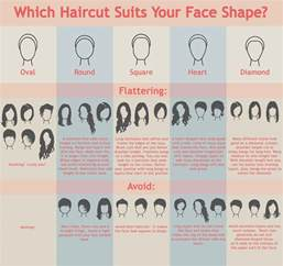 haircut shape which haircut suits your face shape visual ly