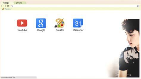 google theme kpop exo exo d o kyungsoo chrome theme themebeta