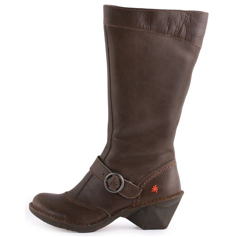 oteiza 619 womens leather olive boots new shoes all sizes