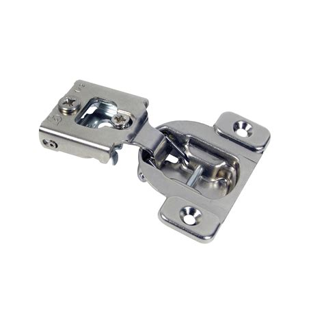 Cabinet Hinges Lowes by Shop Blum 7 16 In Nickel Concealed Self Closing Cabinet