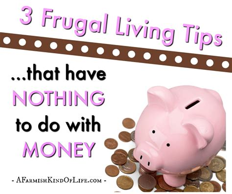 0008131724 i have nothing to do 3 frugal living tips that have nothing to do with money