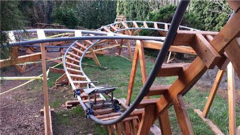 how to make a backyard roller coaster design a safe backyard roller coaster with paul gregg