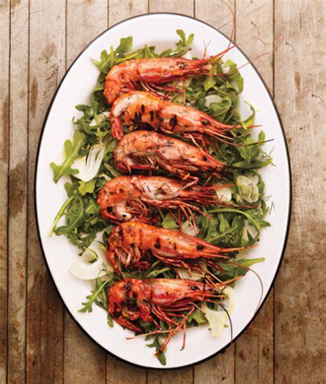 Spot Prawns Recipes | grilled spot prawns recipe epicuriouscom just a pinch