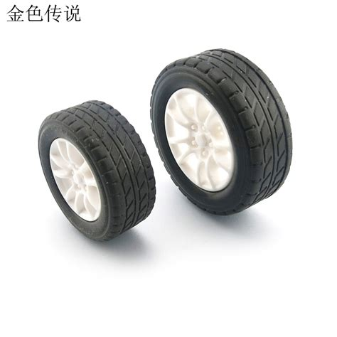 Rubber Wheel For Rc Airplane Model And Diy Robot Tires 45mm aliexpress buy f17675 7 jmt 4pcs 38mm 1 20 rubber tire model wheel diy robot accessories