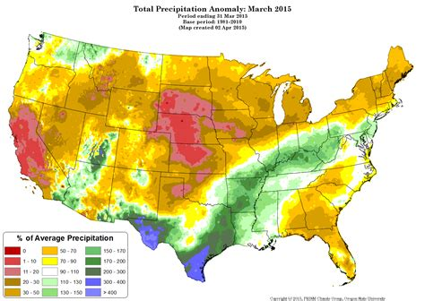 us weather map march 2015 u s climate report march 2015 the how do gardener