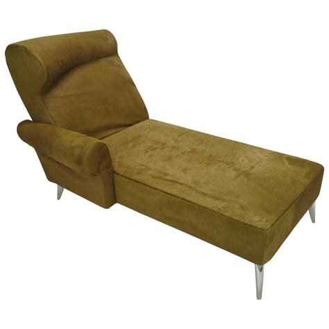 cowhide chaise chaise longue in cowhide by philippe starck for driade