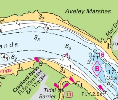 thames river depth map 2015 notices to mariners