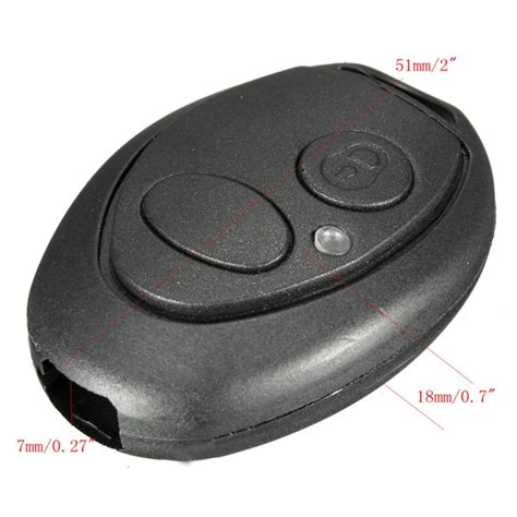 other gadgets 4 button remote key fob shell blade