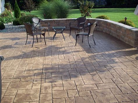 cement backyard patio concrete backyard jpg custom back yard sting