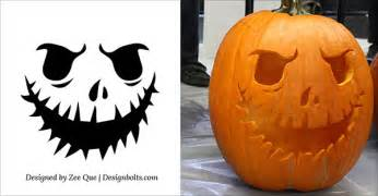 10 free scary cool pumpkin carving stencils free scary pumpkin carving stencils patterns